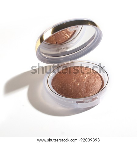 Cosmetic Powder - stock photo
