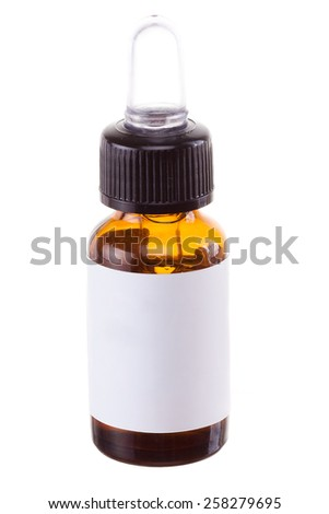 Cosmetic product isolated on white background.  - stock photo