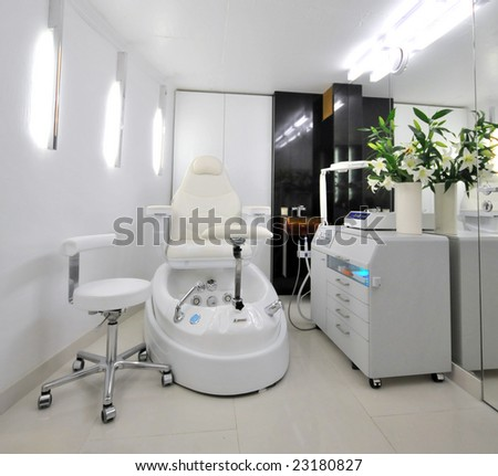 cosmetic salon - stock photo