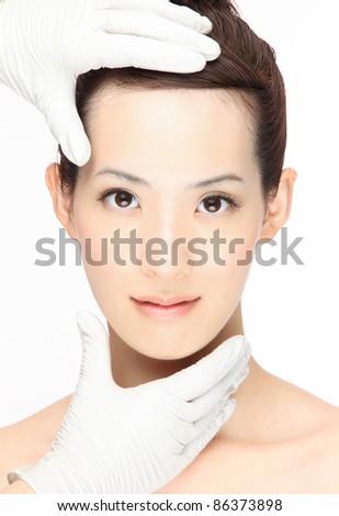 Cosmetic Surgery - stock photo