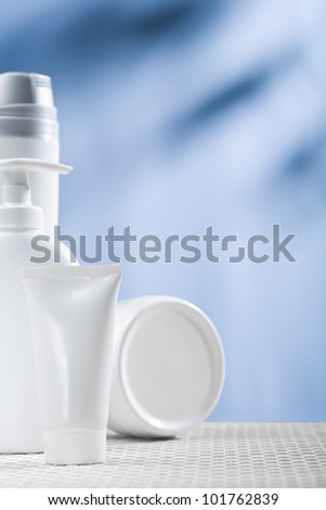 cosmetical composition - stock photo