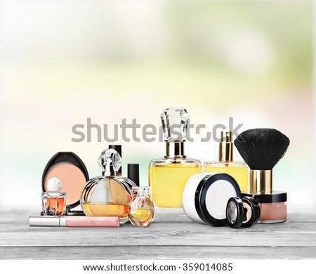 Cosmetics. - stock photo