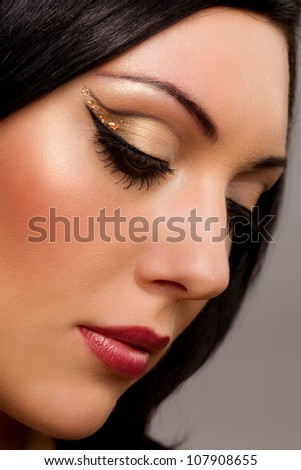 Cosmetics and make-up, beauty and fashion