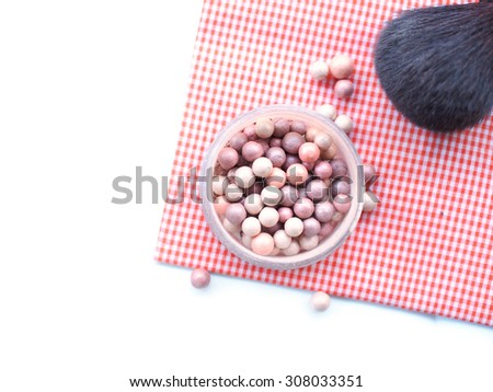 cosmetics and make up tool - stock photo