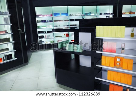 Cosmetics shop - stock photo