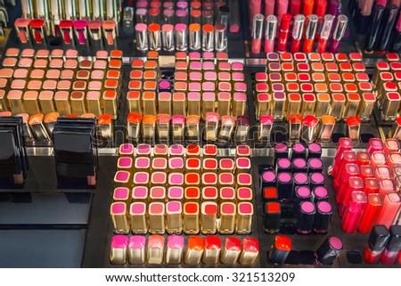 Cosmetics shop - stock photo