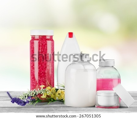 Cosmetics. Spa products - stock photo