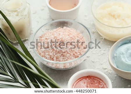 Cosmetology. Cream for beauty and skincare - stock photo