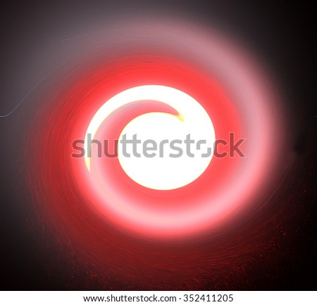 cosmic abstraction - stock photo