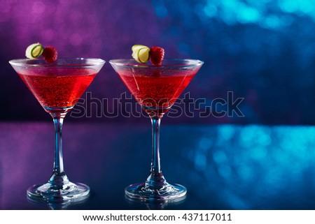 Cosmopolitan cocktail - stock photo