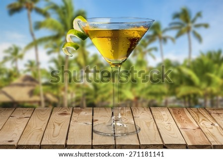 Cosmopolitan. Cosmopolitan Martini - stock photo