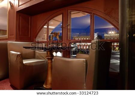 Cosy interior - stock photo