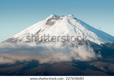 Cotopaxi volcano, Ecuador - stock photo