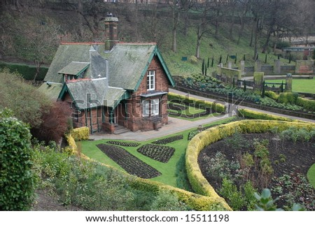Cottage in Edinburgh, Scotland