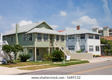 cottage style rental home near the beach in Jacksonville, Florida