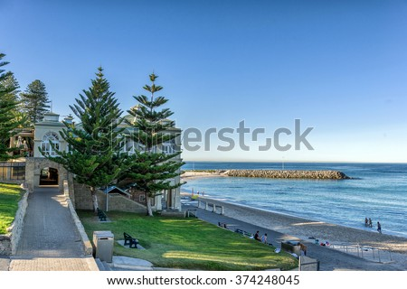 Cottesloe Beach in Perth - stock photo