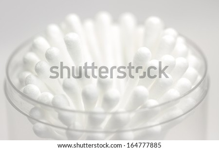 Cotton Buds - stock photo