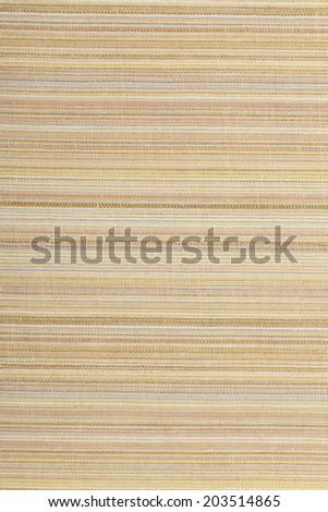 "Cotton fabric traditional weaving of Japan's ""Shijira"". - stock photo"