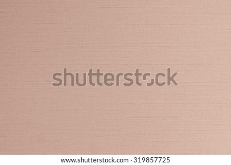 Cotton silk blended fabric wallpaper texture pattern background in light red brown color tone: Fine woven linen textile textured detail patterned backdrop in orange tan toned colour      - stock photo