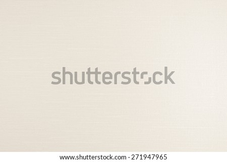 Cotton silk texture background in light beige tone : White cream beige color tone cotton silk linen fabric natural textile (Light source from right-hand)  - stock photo