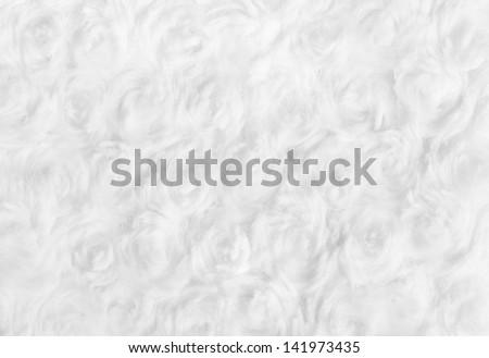 Cotton Wool Texture - stock photo
