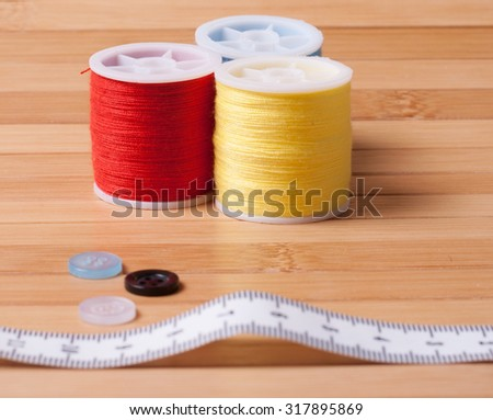 cottons and needles