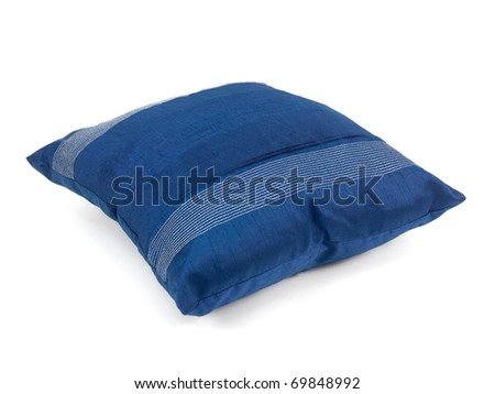 Couch cushions isolated against a white background - stock photo