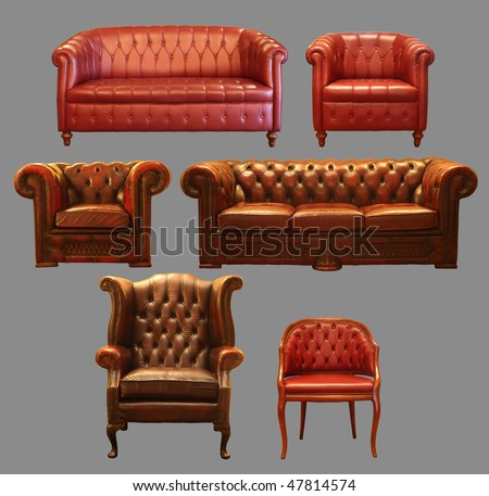 Couch Frontals - stock photo