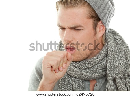 cough - stock photo