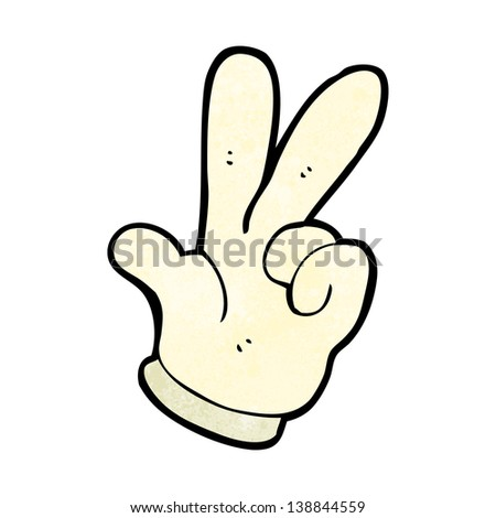 counting hand symbol