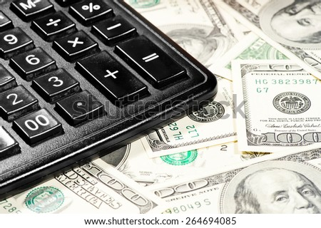 counting profits earned on the calculator
