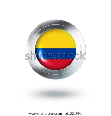 Country Banner, Button Design of Columbia