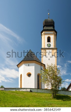 Country Church in Southern Germany