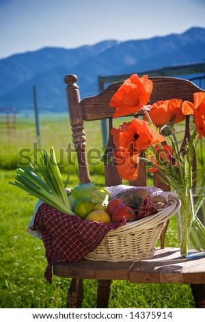 Country Cookbook - stock photo