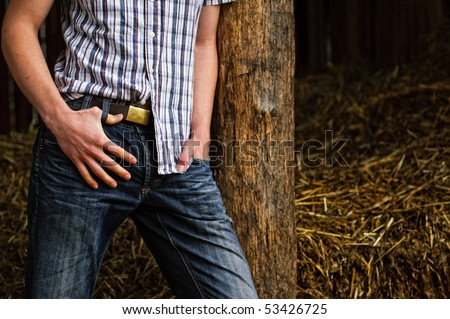country man - stock photo