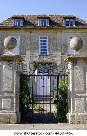Country Manor House - stock photo
