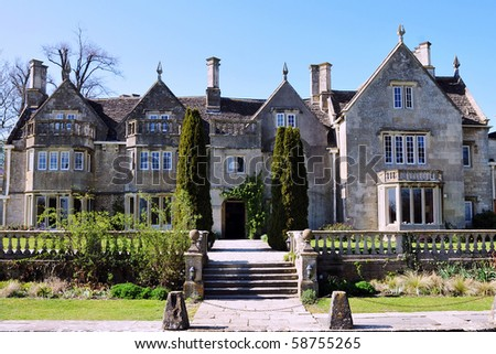 Country Mansion - stock photo