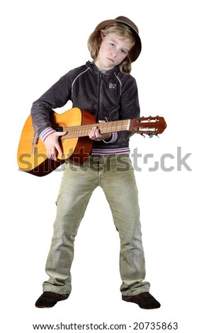 Country Musician - stock photo