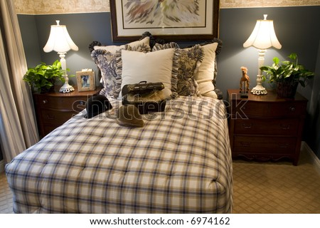 Bedroom Country Style Stock Photos Images Pictures Shutterstock
