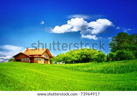 Country summer - stock photo