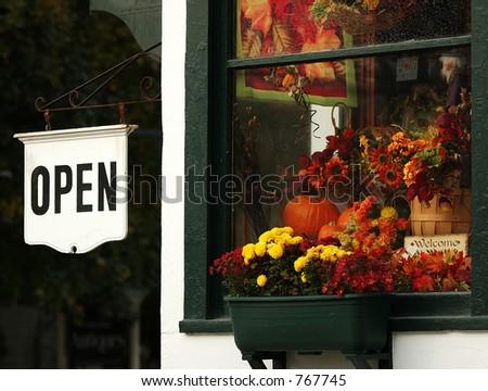 Country Window - stock photo