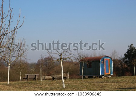 countryside landscape background