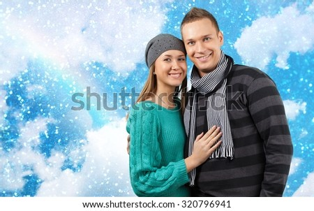 Couple. - stock photo
