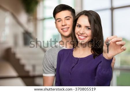 Couple. - stock photo