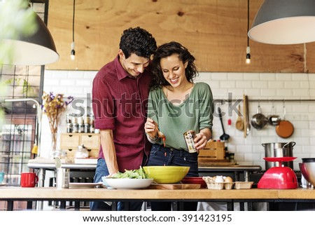 Couple Eating Food Feeding Sweet Concept