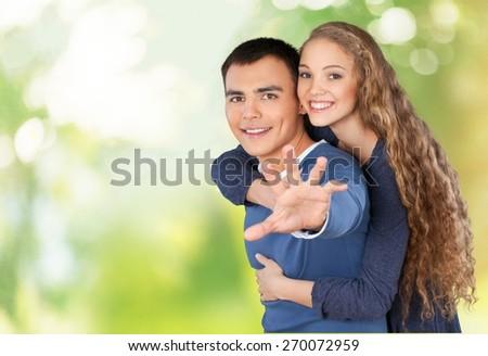 Couple. Elderly couple - stock photo