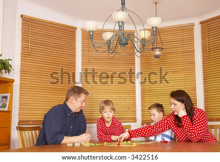 Couple in the home - stock photo