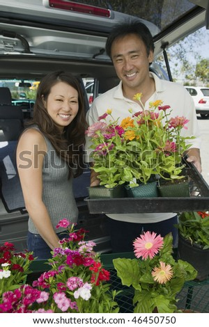Couple Loading Plants