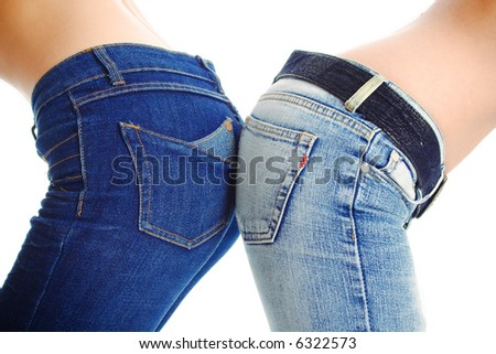 couple of blue jeans
