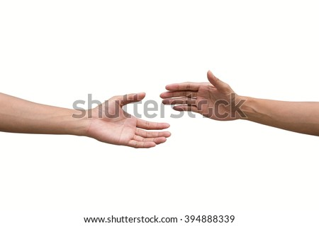 couple of helping/praying hand while background,support/ aid/love/trust / healthcare/ therapy/healing /affection / friends and family concept. - stock photo